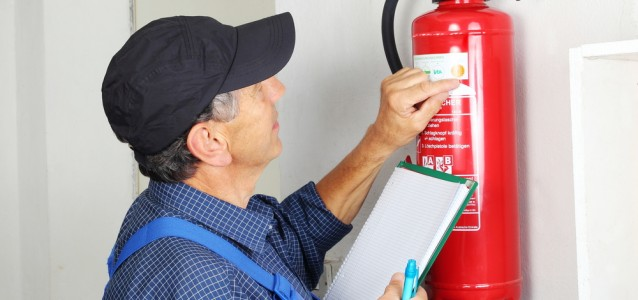 Fire Extinguisher Inspection.