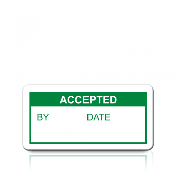 Accepted Labels in Green