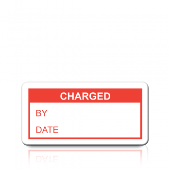 Charged Labels in Red