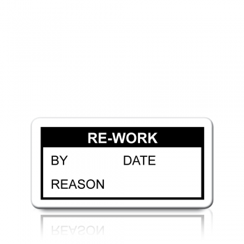 Re-Work Labels in Black