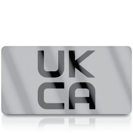 Silver Standard UKCA Labels for UKCA Marking
