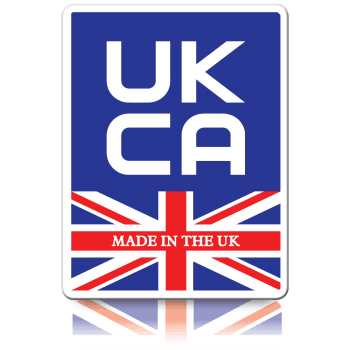 Budget Made in the UK UKCA Labels - Self Adhesive Paper Labels