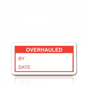 Overhauled Labels in Red