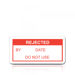 Rejected Labels in Red