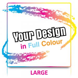 Custom Large Labels in Full Colour