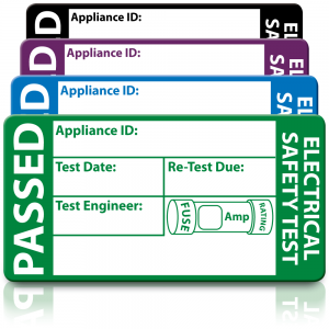 3rd Edition Standard Passed PAT Test Labels. Choice of Colours