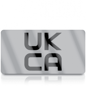 Silver Standard UKCA Labels for UKCA Marking