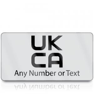 Personalised Premium Heavy Duty UKCA Labels for UKCA Marking