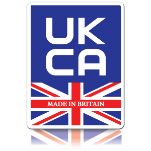 Budget Made in Britain UKCA Labels - Self Adhesive Paper Labels