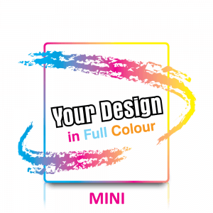 Custom Mini Labels in Full Colour