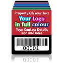 Super Stick Asset Labels Fully Customisable - Sticks to almost anything! Design 3
