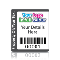 Super Stick Asset Labels Fully Customisable - Sticks to almost anything! Design 4