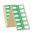 3rd Edition Passed PAT Wrap Labels for PAT Testing. Choice of Colours