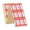 Standard Failed PAT Test Labels