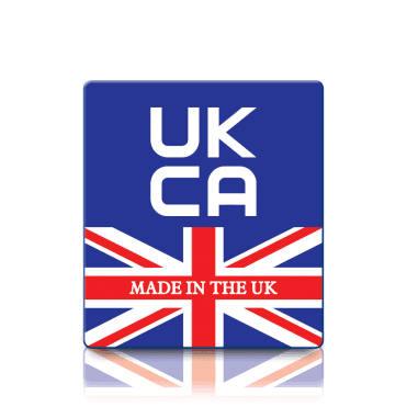 Premium Made in the UK UKCA Labels - Sticks to almost anything!